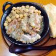 試作・豚軟骨とひよこ豆の煮込み