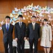 つくば紫峰学園小田小学校卒業式に出席しました。
