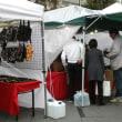 テレビなど報道機関が訪れた静岡アートフェスティバル