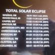 ほとんど暗くならなかった皆既日食