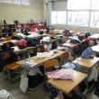 ①6年生租税教室 ②1年生耐久大学との交流 ③避難訓練