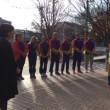 ルーマニア柔道選手市役所へ