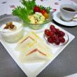 朝食🍴サンドイッチ✾マフィンバーガー