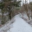 今冬最後?の【難所ヶ滝の氷結】(福岡県)