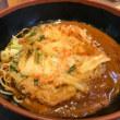 カレーそばに天ぷら at 富士そば 代々木店