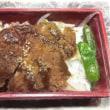 8/18(金)夕食(味噌ひれカツ)。写真と絵。