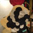 3色のお花のMUGIWARABOU