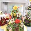 クリスマスツリーケーキ(あんこ)のレッスン