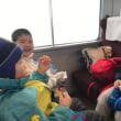 初めてのウィンターキャンプ 2日目