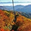 紅葉と雲海・・・・秋の風景