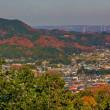 多峯主山から日和田山へ