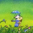 雨多く湿度上がってナメクジ繁盛