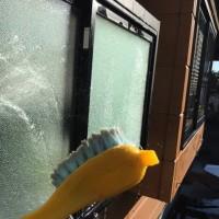 窓拭き 完了(`_´)ゞ