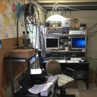無線小屋内部の配置を変更しました。(H30.10.12)