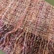 お客さまの織り作品。