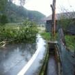 我が家の台風21号の被害・街に出られず2日間陸の孤島で経験したこと。