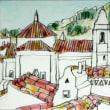 1674.カステロ・デ・ヴィデの教会と煙突