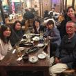 今年最後のなた豆茶作り、のち、宴会(2017/11/15)