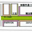 吸殻拾い 本日 0本    御器所通(B)&(C)の地図及び推移