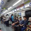 【地下鉄で「西面」まで移動します!】釜山旅行②2018/8/18