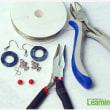 初心者のためのイヤリングのチュートリアル―ビーズで素敵なイヤリングを作る方法
