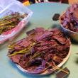 紫蘇ジュース作りを頑張りました。