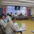 意見交換会における回答書の説明会開催(桐生支部)
