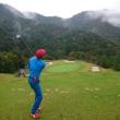 高富ゴルフ倶楽部でゴルフ その2 ~ぎりぎり100切りならず・・・、雨は回避~
