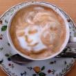 ゆめさとカフェのラテは楽し