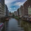 真夏日に柳橋を歩いてみました