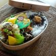 お弁当(焼きロール白菜・トマトソース)
