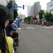 平岸天神、平岸会場のパレード