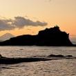 みささぎ島夕景