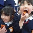 おれんじ 5歳児 衣装作り☆干し柿