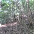 12 茶臼山(神宮寺山城230m:安佐北区)登山  堀切が