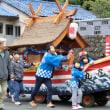 台風の行方と祭り