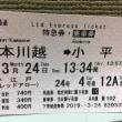 小平駅にレッドアローが止まる日に小江戸川越に散策してきました🚄