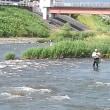試し釣り (写真5) 組合前