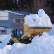 春に近づく除雪作業