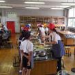 ワンプレートデザートで小学校の家庭科の授業はちょう盛り上がりです。