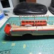 1/43 model cars 日野トレーラーバス 1949 /T13B+T26A 吊り革3