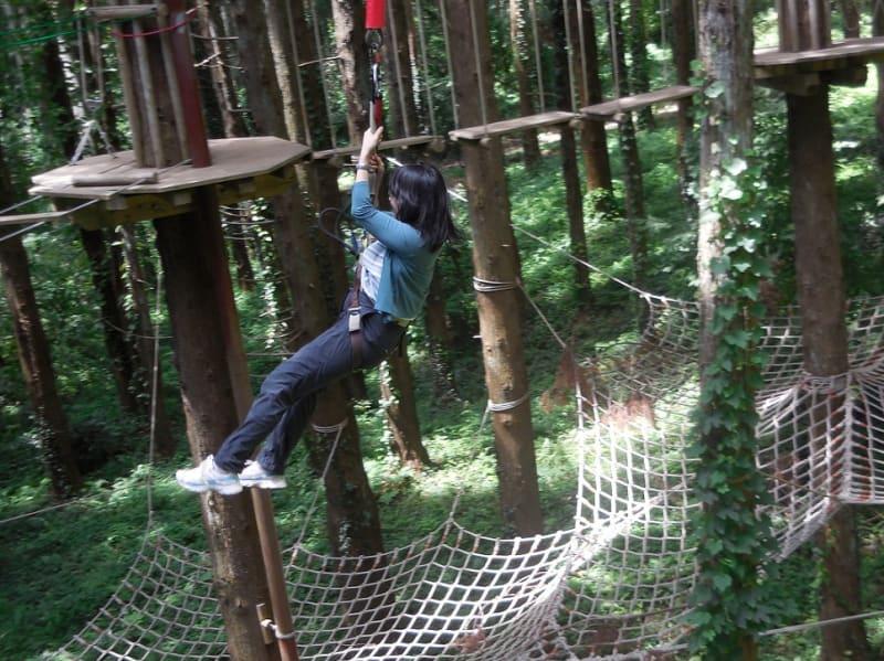 生命の森リゾート、 『ターザニア』 に行きました。我が家の房総旅行記 その1