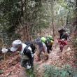 ⑫ 七国見山登山 : つづら折れの急登