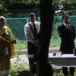 54回目の舘野鉄工所米軍機墜落事故慰霊祭に参加