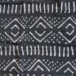 アフリカの布で作った手提げバッグ