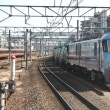 JR貨物EH200形電気機関車(EH200-1)立川駅に一時停車