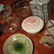 家の手づくりお茶会の準備(菓子器編)