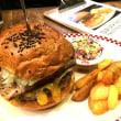 #ハンバーガー の「 #トランプ大統領 セット」を食べてきました( #芝 マンチズバーガーシャック)