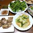 5月14日(月)自家製白菜と揚げの煮物