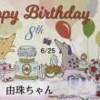 6月24日 満8歳の誕生日